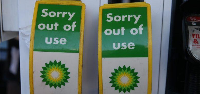 İngiltere'deki benzin istasyonlarının yüzde 10'unda yakıt yok