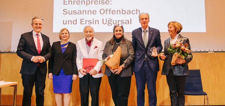 Susanne Offenbach ve Ersin Uğursal'a Manfred Rommel Ödülü verildi