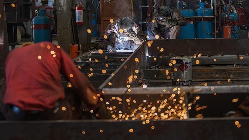 Almanya'da sanayi üretimi 'ara mal sıkıntısı' nedeniyle geriledi