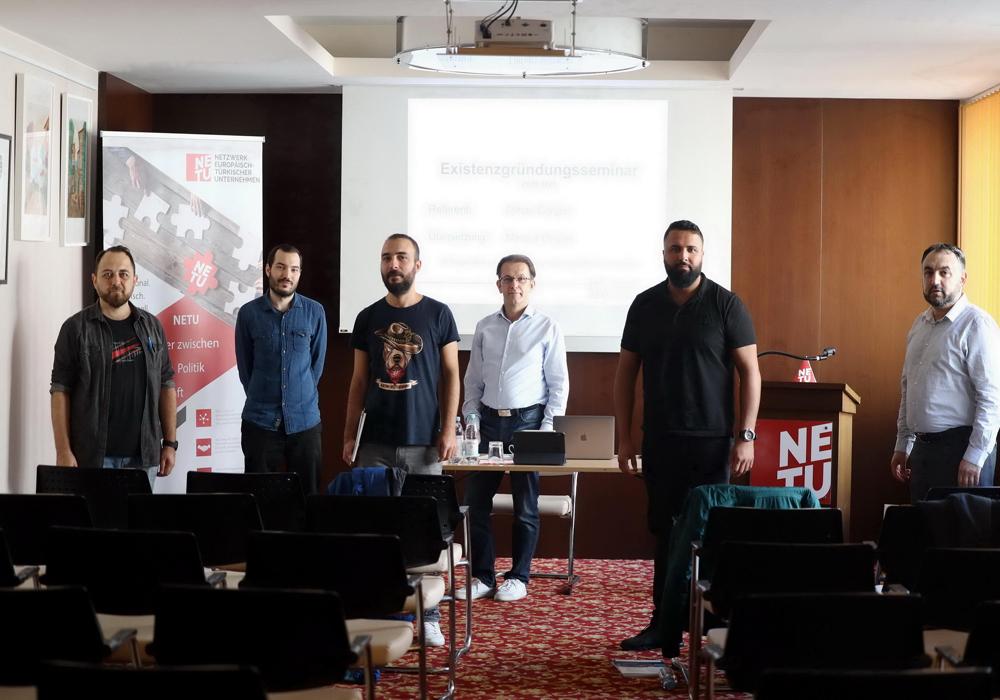 NETU Berlin geleceğin girişimci adaylarının yanında